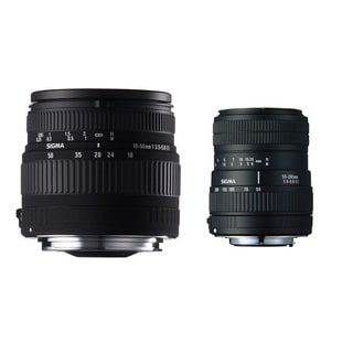 Sigma 18-50mm F3.5-5.6 DC and 55-200mm F4-5.6 DC Lenses For Nikon DSLR