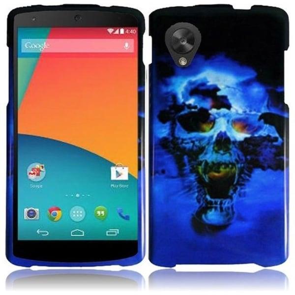BasAcc Hard Plastic Protective Rubberized Cover Case for Google Nexus 5