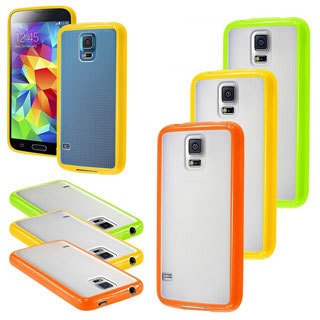 BasAcc Colorful TPU Rubber Gel Skin Cover Case for Samsung Galaxy S5