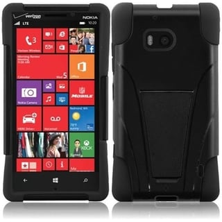 BasAcc Dual Layered Stand Hybrid Cover Case for Nokia Lumia 929 Icon