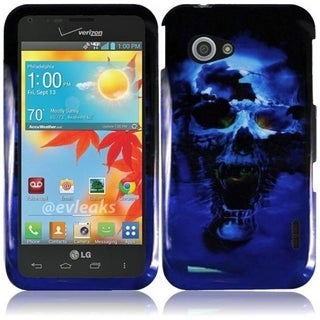 BasAcc Hard Plastic Protective Design Cover Case for LG Enact VS890