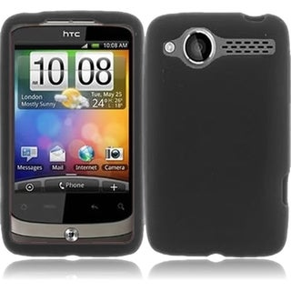 INSTEN Soft Gel Soft Silicone Skin Cover Phone Case Cover for HTC Wildfire CDMA 6225