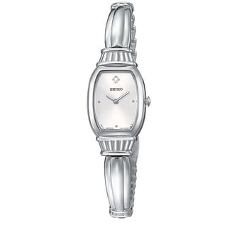 Seiko Women's SUJF23 Diamond Silvertone Stainless Steel Watch