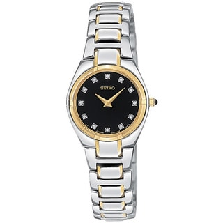 Seiko Women's SUJF30 Diamond Two-tone Satainless Steel Watch