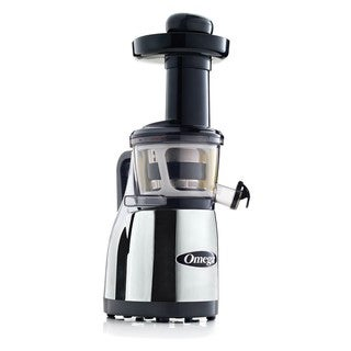 Omega VRT380HDC Vertical Masticating Juicer - Chrome