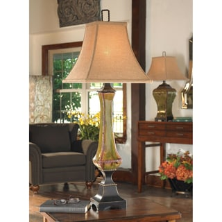Uttermost Porano Procelain and Metal and Resin Floor Lamp