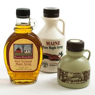 New England Maple Syrup Sampler