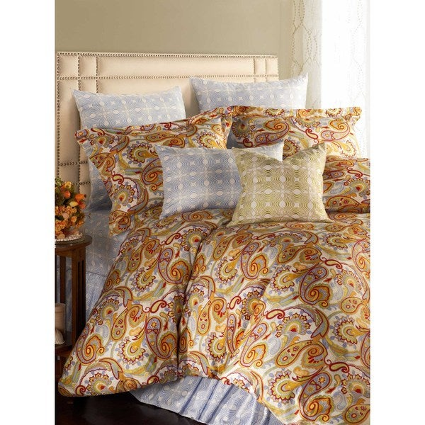 Jennifer Taylor Dynasty 3-piece Queen-size Duvet Cover Set