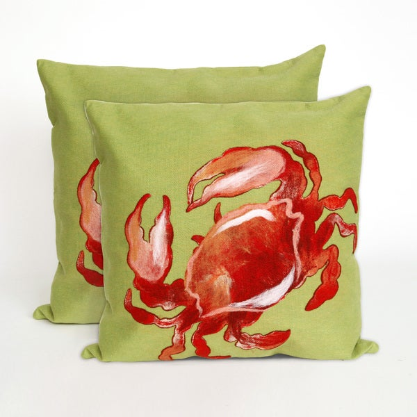Sea Crawler 20-inch Throw Pillow (Set of 2)