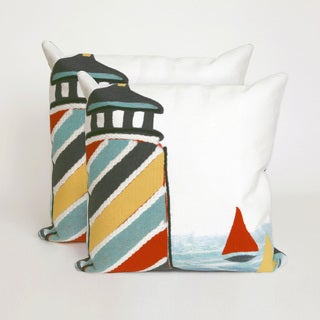 Watchtower 20-inch Throw Pillow (Set of 2)