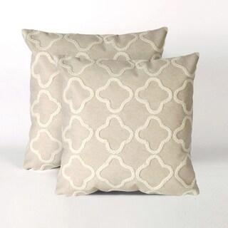 Quartile 20-inch Throw Pillow (Set of 2)