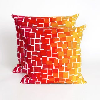 Scales 20-inch Throw Pillow (Set of 2)