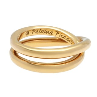 Tiffany & Co. 18k Yellow Gold Paloma Picasso Le Cercle Estate Ring