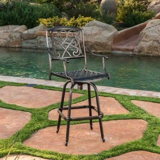 Christopher Knight Home Santa Maria Barstool (Single)