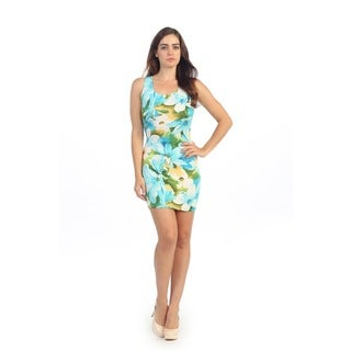Hadari Women't Cutout Floral Sheath Dress