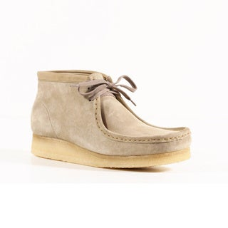 Clarks Men's Wallabee Sand Suede Ankle Boots