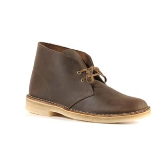 Clarks Men's Beeswax Leather Desert Boots