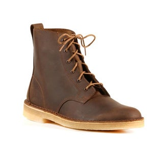 Clarks Men's Beeswax Coated Leather Desert Mali Boots