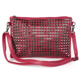 Journee Collection Women's Studded Crossbody Bag