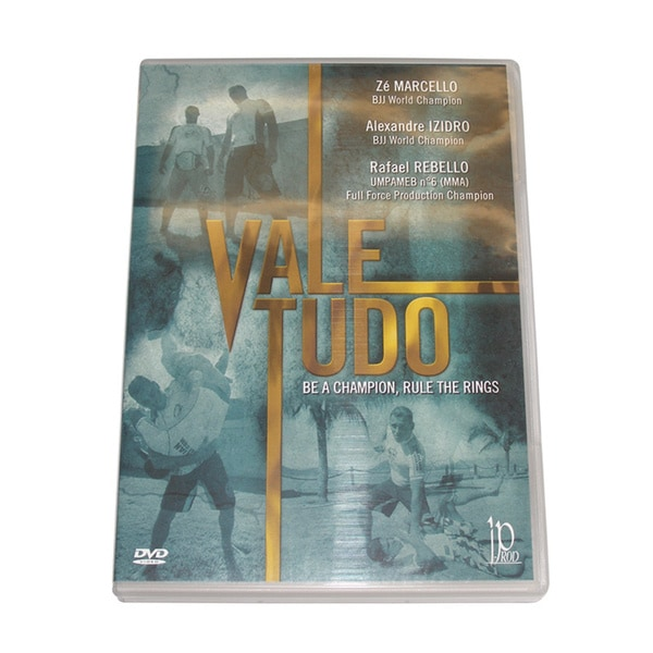 Brazilian Vale Tudo Fighting DVD Marcello Izidro Rebello IF-141178