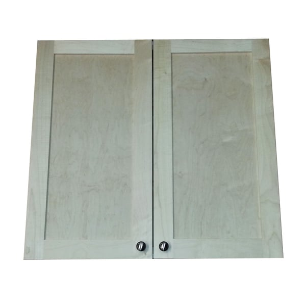 28-inch Recessed In the Wall Double Door Frameless Medicine Cabinet