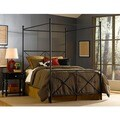 Excel Queen-size Canopy Bed by Fashion Bed Group