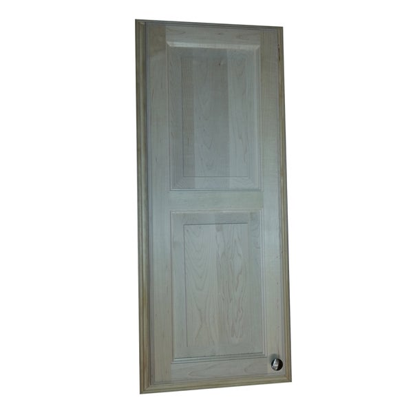 36-inch Baldwin Recessed Double Panel In the Wall Medicine Storage Cabinet