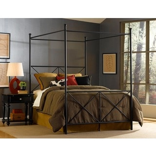 Excel King-size Canopy Bed by Fashion Bed Group