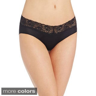 Barely There Women's Lace Waist Hipster Panties