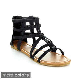 Top Moda Women's 'AI-15' Gladiator Sandals