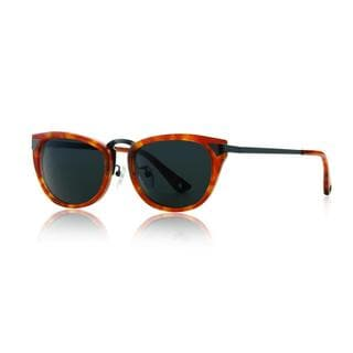 Raen Asper Bengal Tortoise and Gunmetal Sunglasses with Smoke Lenses