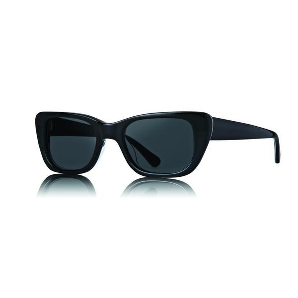 Raen Chaise Black and Nomad Sunglasses with Smoke Lenses