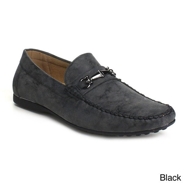 J's Awake Men's 'Dalton-29' Handware Accent Loafers
