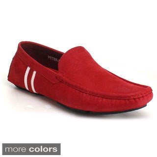 J's Awake Men's 'Peter-32' Driving Moccasin Loafers