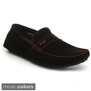 J's Awake Men's 'Peter-34' Driving Moccasin Loafers