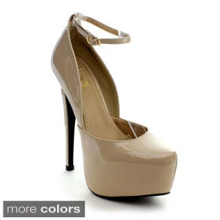 Rck Bella Women's 'Genny-3' Platform Stiletto Heels