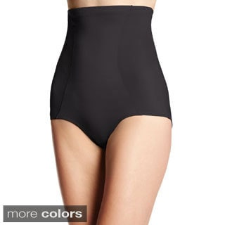 Bali Women's Smooth U High-waist Brief with Cool Comfort Design