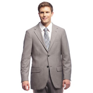 Dockers Men's Grey Sharkskin Suit Separates Coat