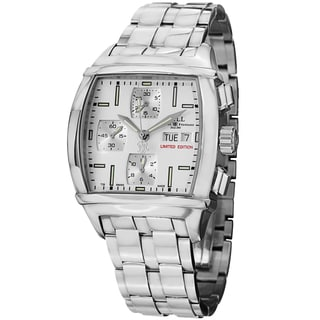 Ball Men's CM1068-SJ-WH 'Conductor Chronograph' Silver Dial Stainless Steel Limited Edition Watch