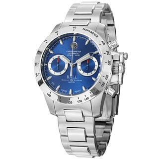 Ball Men's CM2098C-SCJ-BE 'Engineer Hydrocarbon' Blue Dial Stainless Steel Magnate Watch
