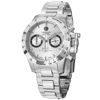 Ball Men's CM2098C-SCJ-SL 'Engineer Hydrocarbon' Silver Dial Stainless Steel Magnate Watch
