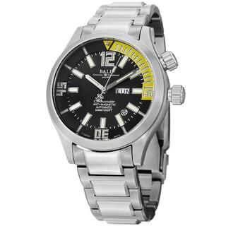 Ball Men's DM1022A-SC1A-BKYE 'Engineer Master II' Black Dial Titanium Bracelet Watch