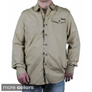 MO7 Men's Camo Trim Button Down