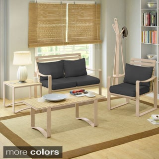 CorLiving Aquios Bentwood 5-piece Living Room Set