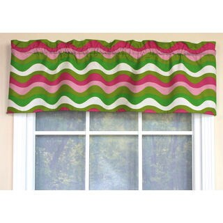 Candy Stripes Straight Window Valance