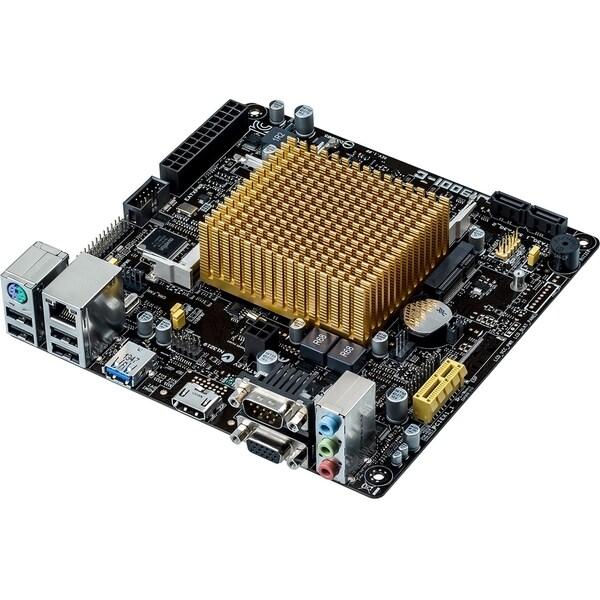 Asus J1900I-C Desktop Motherboard - Intel Chipset - Intel Celeron J19