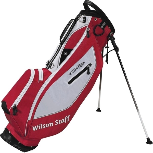 Wilson Staff Feather Red Stand Golf Bag