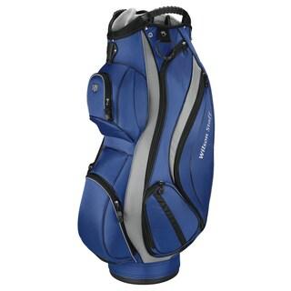 Wilson Staff Blue Cart Plus Cart Golf Bag