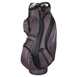 Wilson Staff Gunmetal Cart Plus Cart Golf Bag
