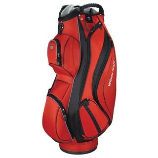 Wilson Staff Red Cart Plus Cart Golf Bag